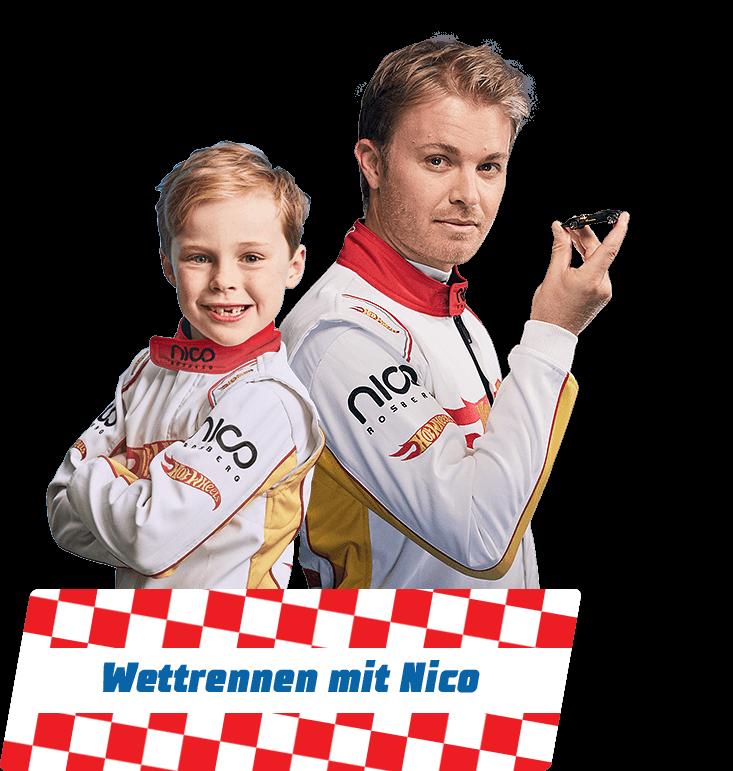 Wettrennen mit Nico