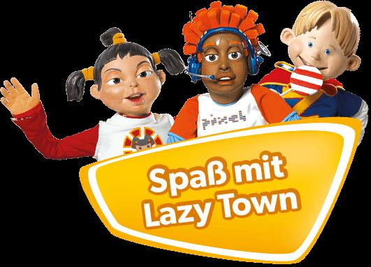 Spaß mit Lazy Town