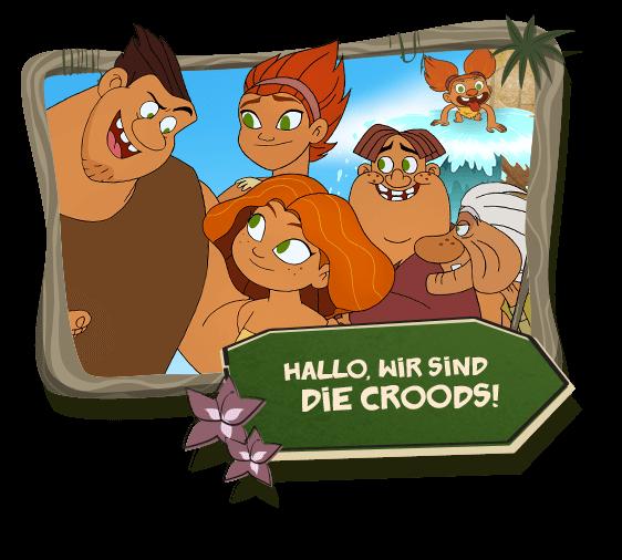 Hallo, wir sind die Croods!