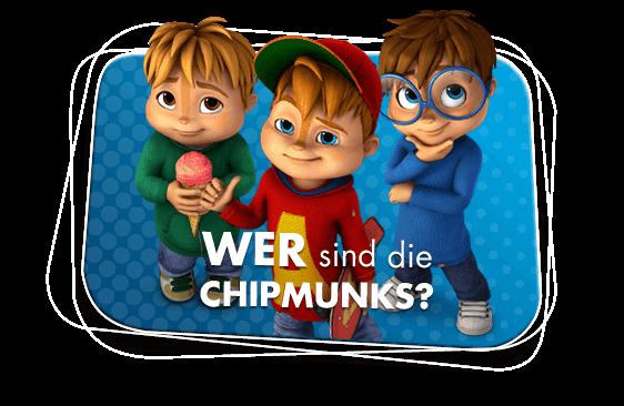 Wer sind die Chipmunks