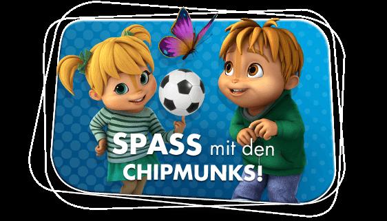 Spaß mit den Chipmunks