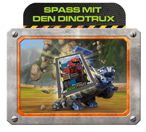 Spaß mit den Dinotrux