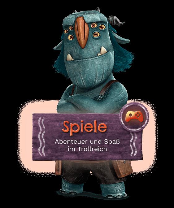 Alle Trolljäger-Spiele
