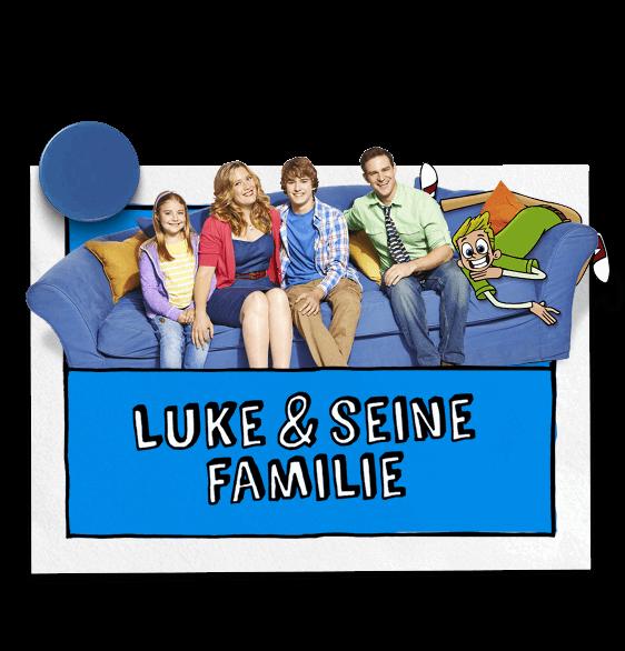 Luke und seine Familie