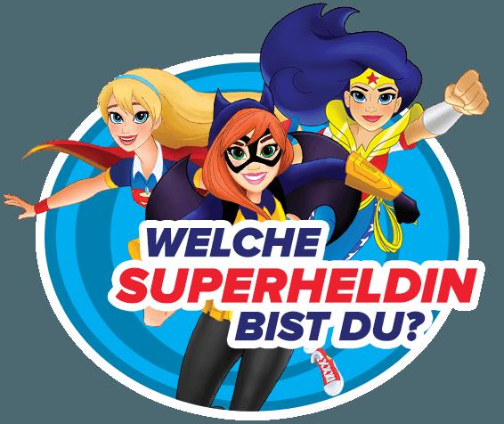 Welche Superheldin bist du?