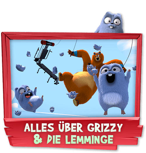 Alles über Grizzy & die Lemminge