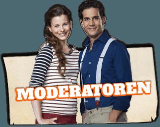 Die Moderatoren